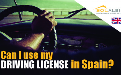 Can I use my driving license in Spain?