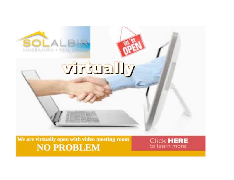 Dear Clients: SolAlbir is Virtually Open !
